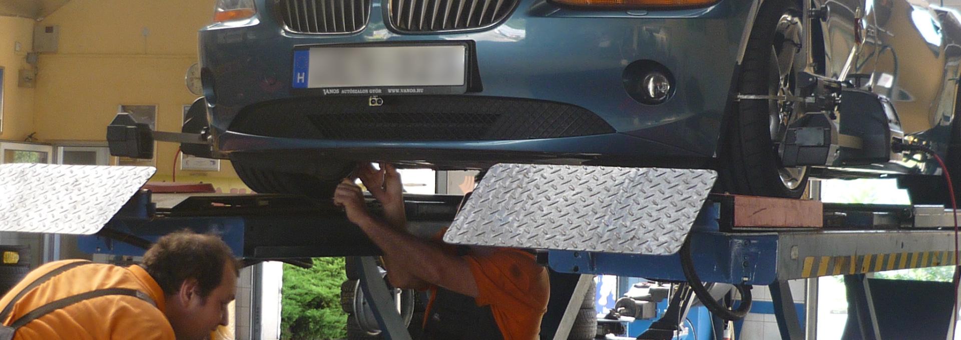 Rolling-Trade autószerviz műhely